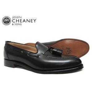 JOSEPH CHEANEY ジョセフ チーニー HARRY ハリー BLACK 5788/22 タ...