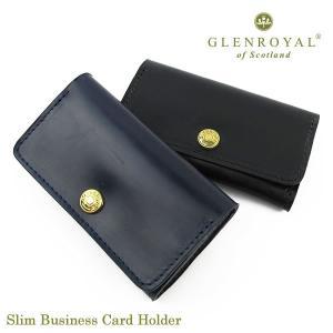 Glen Royal 名刺入れ Slim Business Card Holder 03-6131〔...