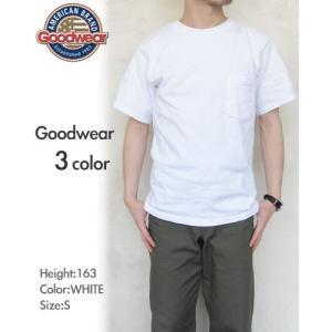 Goodwear  グッドウェア  7.2oz Heavy Weight Pocket T-shirts  レギュラーフィット * メンズ 〔FL〕|tigers-brothers