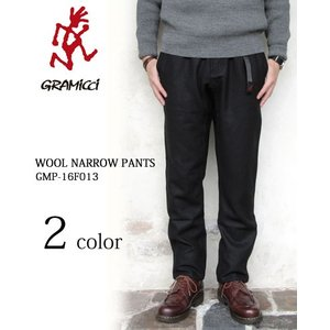 グラミチ ウール ナローパンツ GRAMICCI WOOL NARROW PANTS *メンズ 16F013 〔FL〕|tigers-brothers