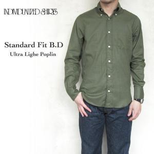インディビジュアライズドシャツ メンズ スタンダードフィット ボタンダウン Individualized Shirts STANDARD FIT オリーブ E94ABO-K Olive 〔FL〕 tigers-brothers