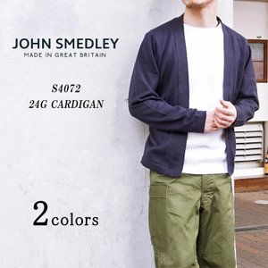 JOHN SMEDLEY ジョンスメドレー S4072 24G Long Sleeve Botton...