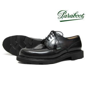 パラブーツ レディース シャンボード ガラスレザー ブラック Paraboot Chambord 170427 Gloss Noir ノアール BLACK Uチップ〔FL〕 tigers-brothers