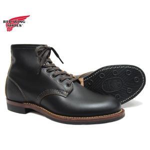 レッドウィング  REDWING 9060 ベックマン ブーツ フラットボックス ブラック  黒 茶芯 BECK入MAN BOOT FLAT BOX  先芯無し〔FL〕