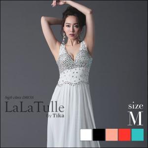 大人セクシー クール ロングドレス 胸元 贅沢 ビジュー 高級感 とろみ 清楚 美しい ライン 魅力...