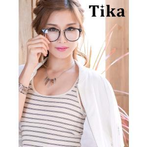 94ace39583ac7 メガネ Tika ティカ ブラックフレーム だてメガネ ファッション 激安 アクセ キャバ ダテ眼鏡 だてメガネ 伊達眼鏡 伊達メガネ レディース  通販 激安 格安
