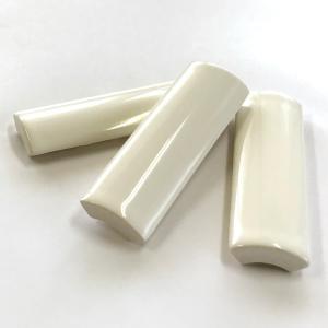 アウトレットタイル 竹割タイル 75mm×24mm 白色|tileshop-matsuo