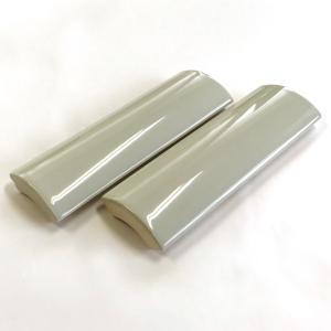 アウトレットタイル 竹割タイル 108mm×34mm パールグレイ|tileshop-matsuo