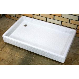 おしゃれタイル流し台 タイル洗面台Lサイズ0217ホワイト|tileshop