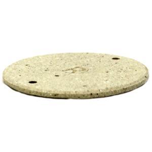 耐火レンガ 円板R サイズ約5×0.2cm tileshop