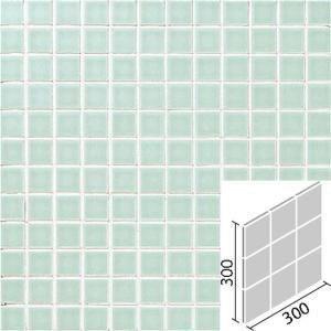 ニュアンス 100mm角 薄緑 IM-100P1/NY4H|tileshopym