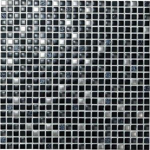 スターダスト 12角ネット張り 1袋9粒 黒系×4銀  IM-12P1/SAD2|tileshopym