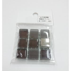 スターダスト 12角ネット張り 1袋9粒 黒系×4銀  IM-12P1/SAD2|tileshopym|05