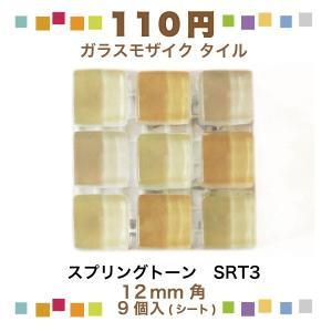 スプリングトーン 12角ネット張り 1袋9粒 オレンジ系 IM-12P1/SRT3|tileshopym