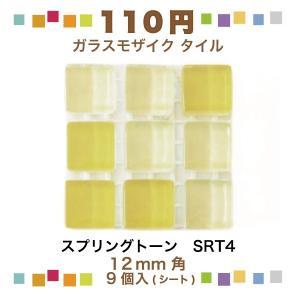 スプリングトーン 12角ネット張り 1袋9粒 黄色系 IM-12P1/SRT4|tileshopym