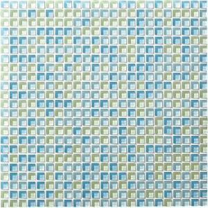 スプリングトーン 12角ネット張り 1袋9粒 水色系 IM-12P1/SRT6|tileshopym