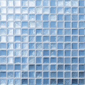 ルキアグラス 25mm角ネット張り 1袋4枚 青 IM-25P1/LUC4|tileshopym|04
