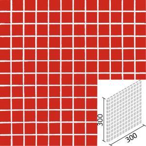 ニュアンス 25mm角ネット張り 1袋4枚×2セット 赤 IM-25P1/NY10N|tileshopym