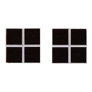 ニュアンス 25mm角ネット張り 1袋4枚×2セット 黒 IM-25P1/NY11H|tileshopym