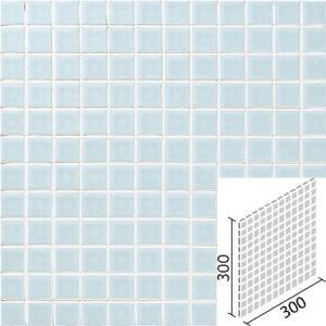 ニュアンス 25mm角ネット張り 1袋4枚×2セット 薄水色 IM-25P1/NY3H|tileshopym