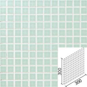 ニュアンス 25mm角ネット張り 1袋4枚×2セット 薄緑 IM-25P1/NY4H|tileshopym