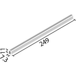 ペン 250×11角ボーダー ライム PEN-2510/7|tileshopym|02