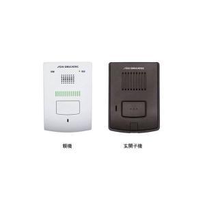 DXアンテナ DWP10A1 ワイヤレスインターホンセット(玄関子機+屋内親機】)|timberpro