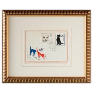 世界最初の猫切手(ペルシャ、ヨーロッパ猫)|timbre