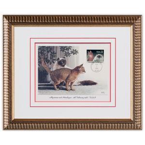 切手額 猫 米国 1988年 #2|timbre