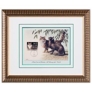 切手額 猫 米国 1988年 #3|timbre