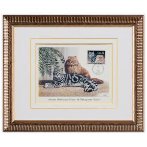 切手額 猫 米国 1988年 #4|timbre