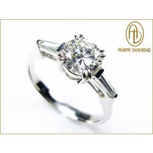 VS1-G/ダイヤモンドリング/1.0ct 0.2ctプラチナ900指輪/芦屋ダイヤモンド/極KIWAMI|time-yume7
