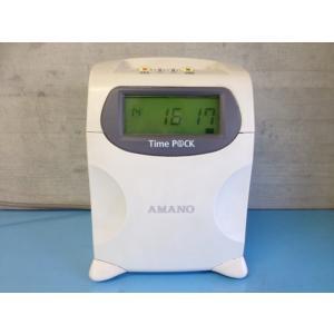 8403 TimeP@CK2(本体のみ)AMANO アマノ タイムレコーダー 【中古品・分解整備済・1年保証】4欄/1色印字 新品は5年間無料延長保証|timecard