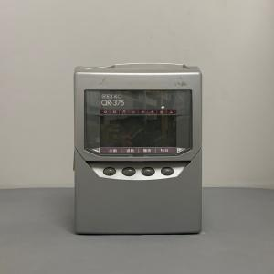 N604 QR-375 SEIKO セイコー タイムレコーダー 【中古品・分解整備済・1年保証・送料無料】 timecard