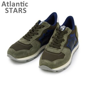 アトランティックスターズ スニーカー ANTARES アンタレス MAB-09NY MILITARE 644 Atlantic STARS メンズ シューズ 靴|timeclub
