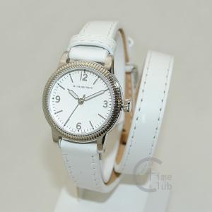 BURBERRY バーバリー 時計 腕時計 BU7846 シルバー/ホワイト レザー レディース|timeclub