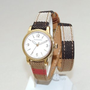 BURBERRY バーバリー 時計 腕時計 BU7851 ゴールド レザー レディース|timeclub