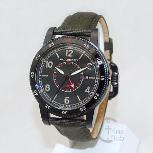 BURBERRY バーバリー 時計 腕時計 BU7855 ブラック/カーキ メンズ|timeclub