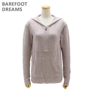 ベアフットドリームス パーカー B406-129 FADED ROSE CozyChic Lite Womens Zip-Up Hoodie レディース BAREFOOT DREAMS|timeclub