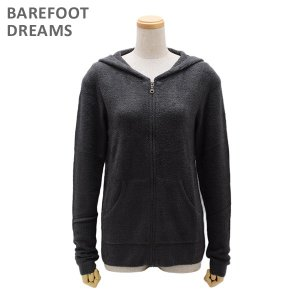ベアフットドリームス パーカー B406-92 CARBON CozyChic Lite Womens Zip-Up Hoodie レディース BAREFOOT DREAMS|timeclub