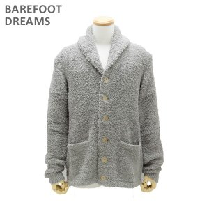 ベアフットドリームス カーディガン B810-97 WARM GRAY CozyChic Mens Cardigan メンズ BAREFOOT DREAMS|timeclub