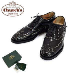 チャーチ レディース DE0002-9XV-F0AAB Church's BURWOOD MET ブラック シューズ 靴|timeclub