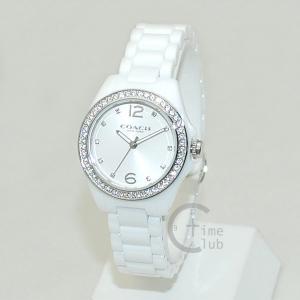 COACH (コーチ) 腕時計 14502106 ホワイト Tristen トリステン レディース 時計 ウォッチ timeclub