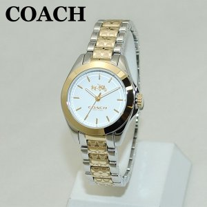 COACH (コーチ) 腕時計 14502186 トリステン ゴールド/シルバー コンビ レディース 時計 ウォッチ timeclub