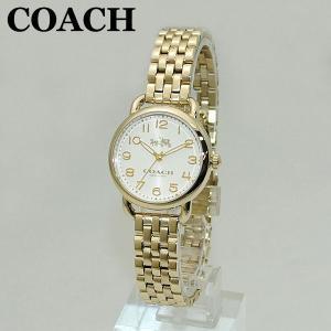 COACH (コーチ) 腕時計 14502241 DELANCEY デランシー ゴールド レディース 時計 ウォッチ ブレス timeclub