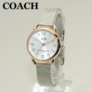 COACH (コーチ) 腕時計 14502246 デランシー ピンクゴールド/シルバー レディース 時計 ウォッチ timeclub