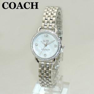 COACH (コーチ) 腕時計 14502477 DELANCEY デランシー シルバー レディース 時計 ウォッチ ブレス timeclub