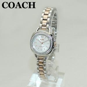 COACH (コーチ) 腕時計 14502576 TATUM テイタム シルバー/ピンクゴールド コンビ レディース 時計 ウォッチ ブレス timeclub
