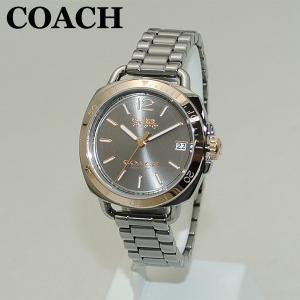COACH (コーチ) 腕時計 14502597 TATUM テイタム ガンメタル/ピンクゴールド レディース 時計 ウォッチ ブレス timeclub