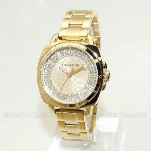 COACH (コーチ) 腕時計 14501994 ブレス ゴールド レディース 時計 ウォッチ|timeclub